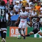 São Paulo fica no empate com o Ceará pelo Brasileirão