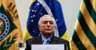 O presidente Michel Temer durante cerimônia, na semana passada, em Brasília (Foto: Alan Santos/Agência Brasil)