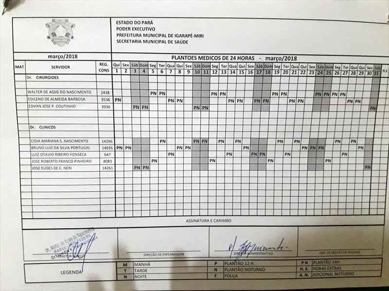 As notas de serviço mostram os pagamentos, que chegam a superar R$ 20 mil. (Foto: divulgação)