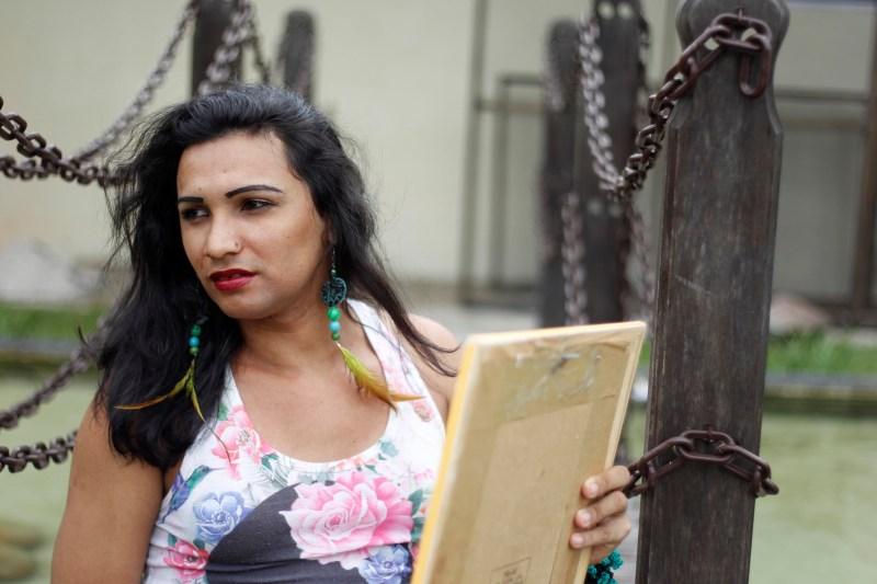 Michelly Paixão é uma das detentas beneficiadas pelo direito à visita íntima homoafetiva. (FOTO: AKIRA ONUMA / ASCOM SUSIPE)