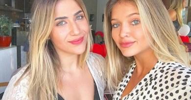 Jéssica Beatriz (à esquerda) e Lyandra Costa (à direita)Reprodução/Instagram