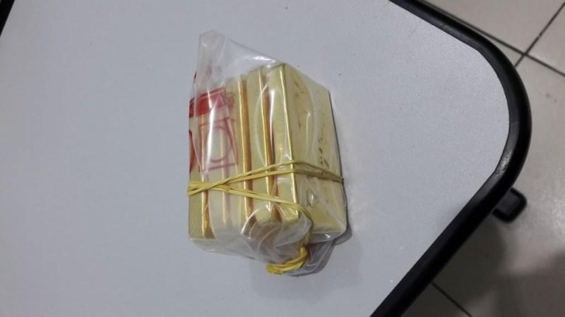 """Barras de ouro apreendidas na Operação """"Dilema de Midas"""", da Polícia Federal em parceria com o MPF (Foto: Polícia Federal/Divulgação)"""