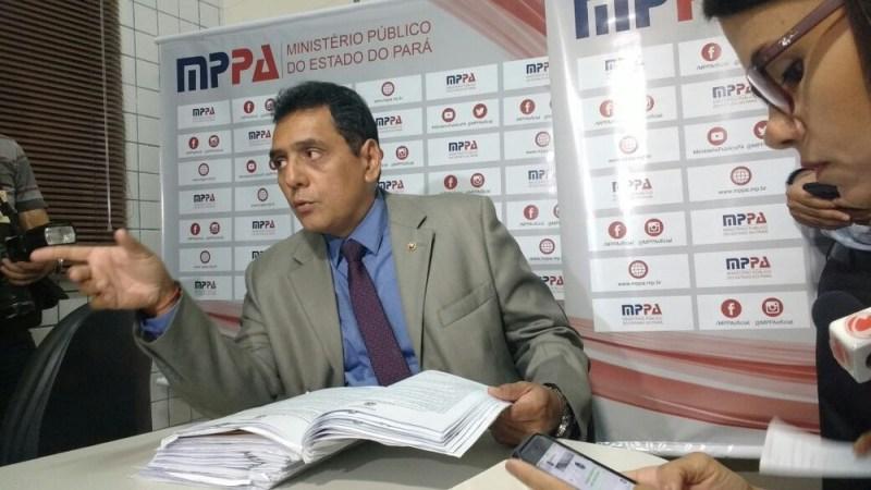 Armando Brasil Teixeira, promotor do Ministério Público Militar do Pará (Foto: Luiz Cláudio Fernandes/G1 PA)