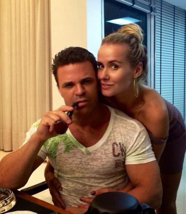 Eduardo Costa e Lola Melnick