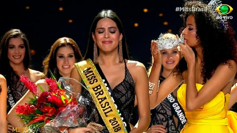Mayra Dias do Amazonas é a Miss Brasil 2018