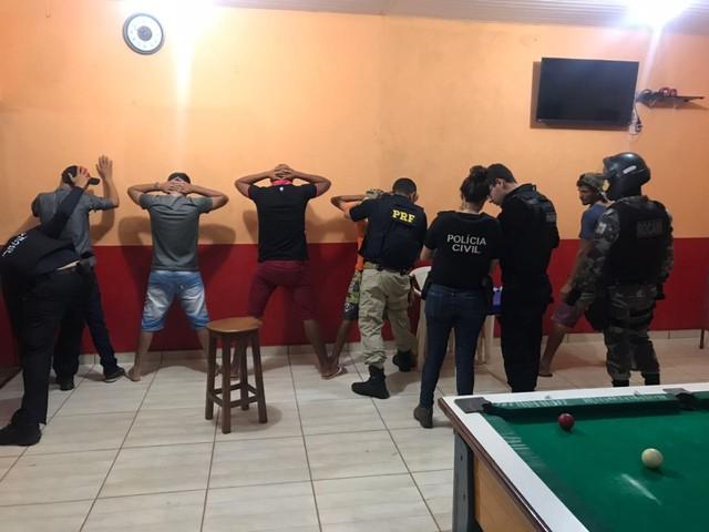 Motocicletas foram apreendidas durante operação policial em Dom Eliseu. (Foto: Divulgação/ PRF)