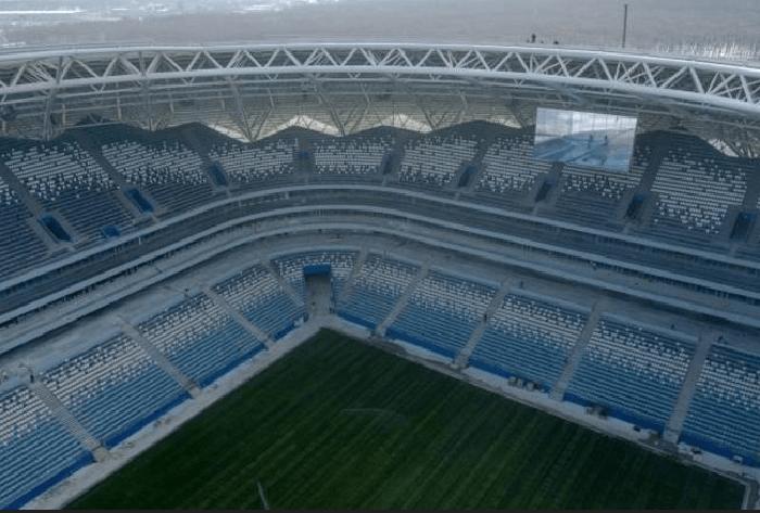 Se a seleção brasileira classificar em primeiro no Grupo E, vai disputar as oitavas de final na Arena Samara, dia 2 de julho. Este estádio também está no caminho brasileiro caso o time classifique em segundo do Grupo E. Lá será jogada as quartas de final, no dia 7 de julho.(Foto: Divulgação Fifa)