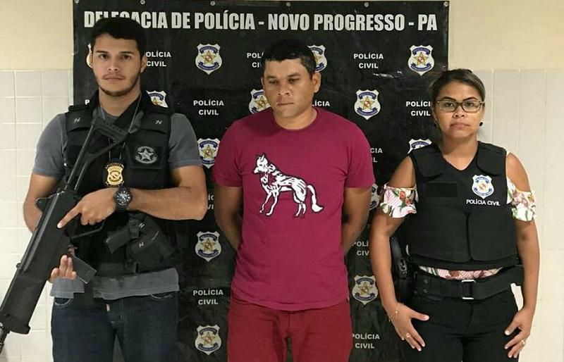Homem é preso acusado de estuprar menina de 11 anos em Alvorada da Amazônia