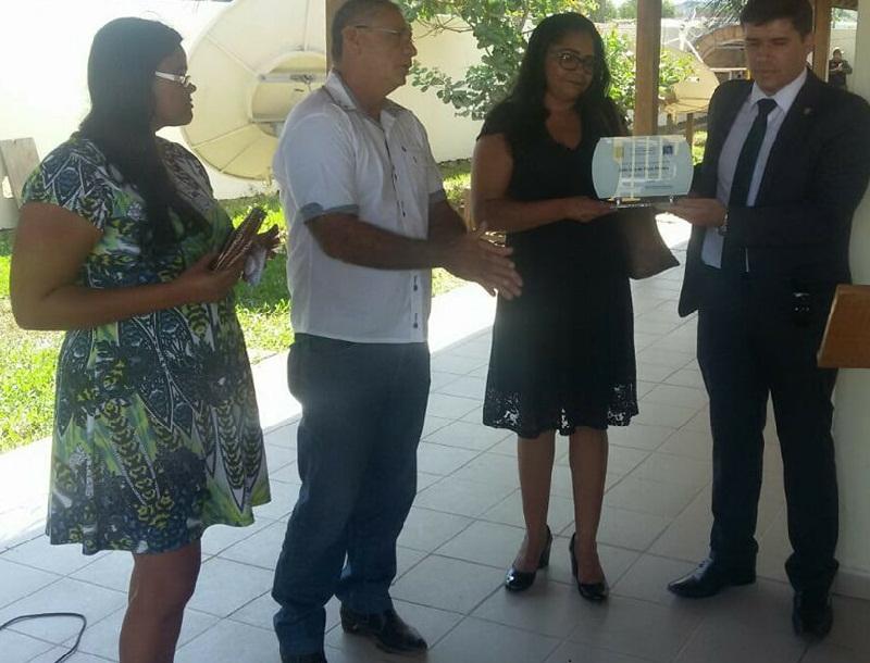 Familiares do sargento marcaram presença no evento e receberam uma placa em homenagem ao PM.