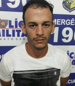 Ronaldo Rodrigues de Souza foi preso na cidade de Peixoto (MT) [foto arquivo pessoal)