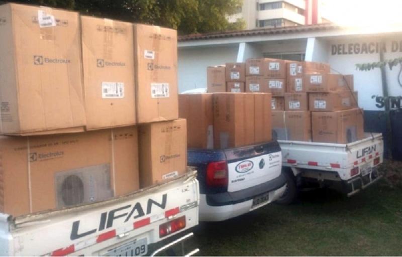 Preso em Novo Progresso acusado por golpe de R$ 70 mil em Sinop; 28 aparelhos de ar-condicionado recuperados