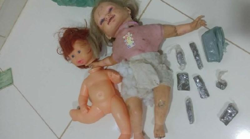 Policia prende  traficantes com drogas dentro de bonecas em Novo Progresso
