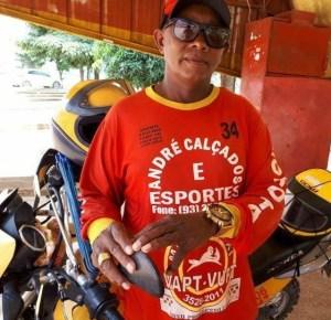 Moto Taxista Benedito França (Caxeta) (Foto:WatsApp)