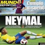 Imprensa europeia elege Neymar como 'vilão' por queda do Brasil: 'Neymal'