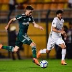 Palmeiras cede empate ao Santos no Pacaembu