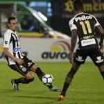 Santos fica no empate sem gols com a Chapecoense na Arena Condá