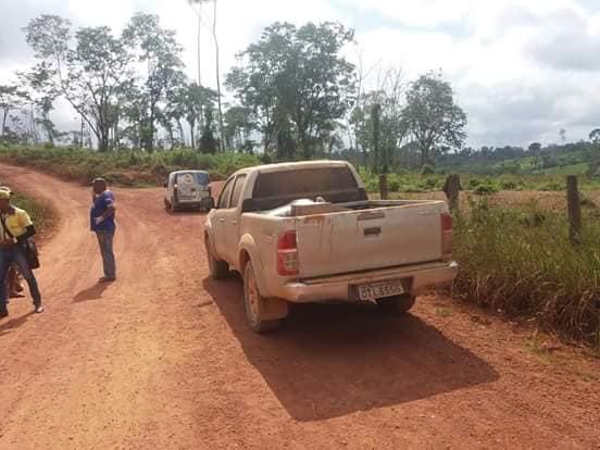 Camionete de Edelson Silva Pereira (foto:REprodução)