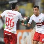 Internacional atropela o Fluminense no Maracanã e fica a três pontos do líder