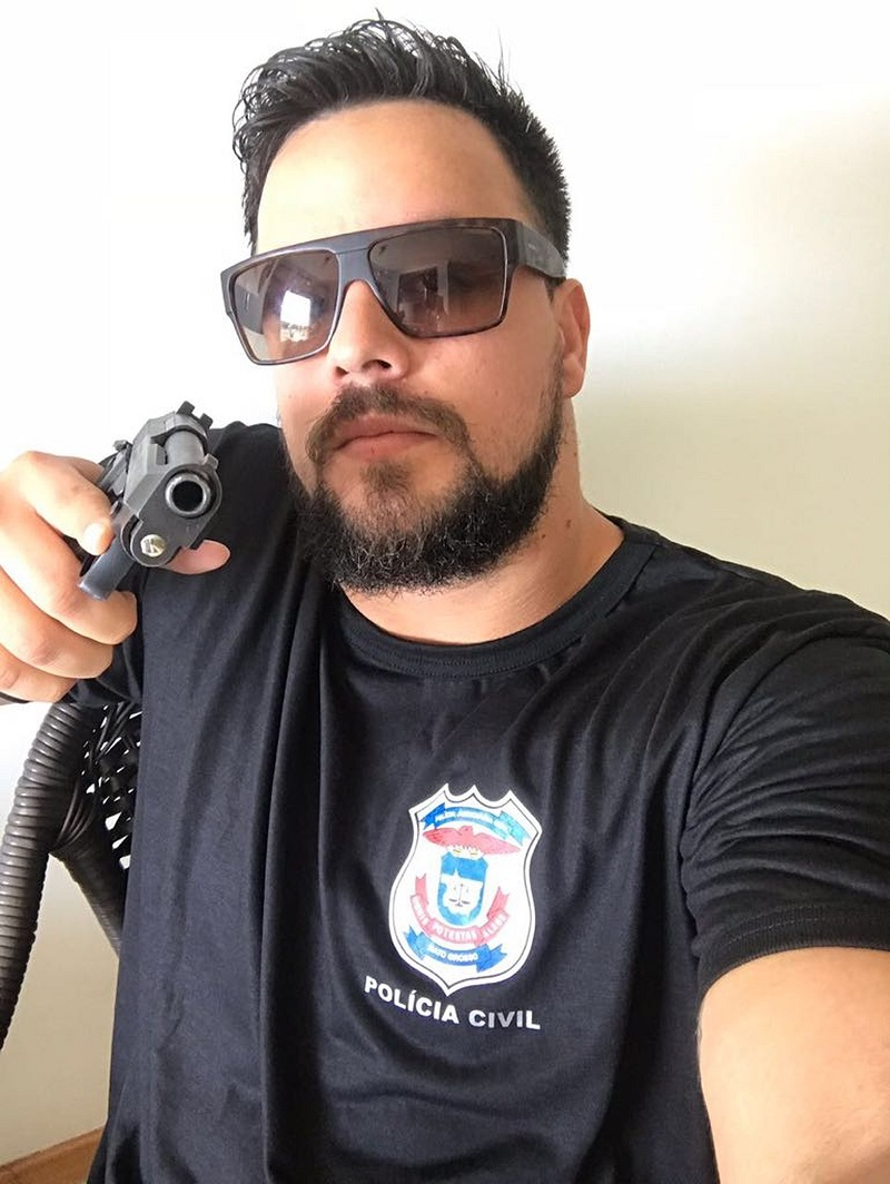 Airton Alex Nunes (Foto: Polícia Civil de MT/Divulgação)