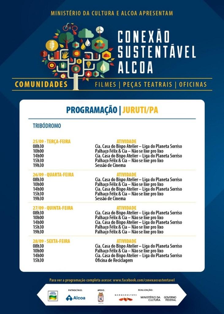 Programação Conexão Sustentável Alcoa Juruti 09.18