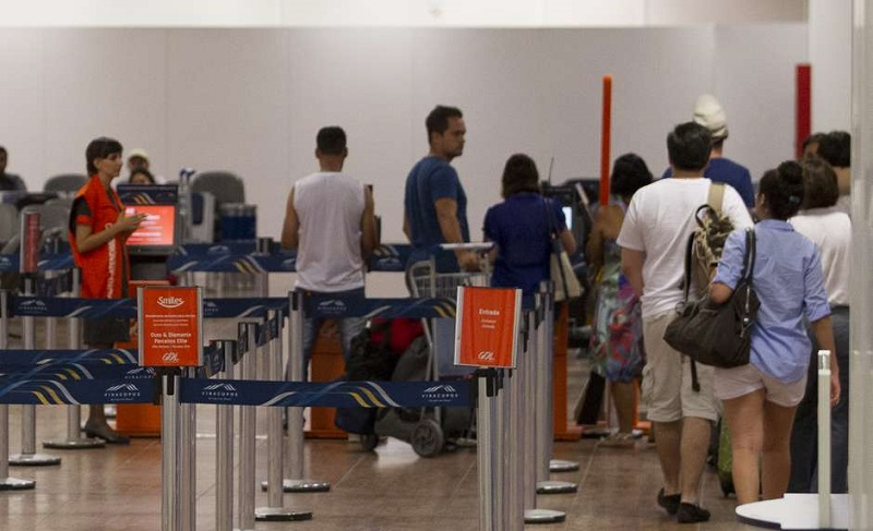 Movimentação no Aeroporto Internacional de Viracopos Foto: MISTER SHADOW / Estadão Conteúdo