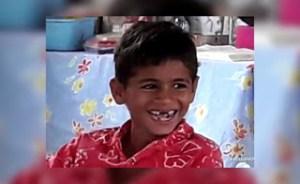 Kaiki Maciel Pinheiro, 6 anos, vítima.