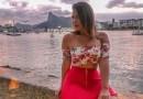 De lingerie, Geisy Arruda causa furor na web