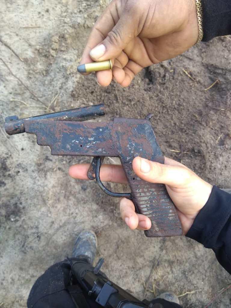 Quatro armas foram apreendidas e uma pessoa foi presa em flagrante.(Foto;Reprodução)