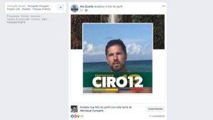 Perfil do Facebook de Alexandre Duarte (Divulgação)
