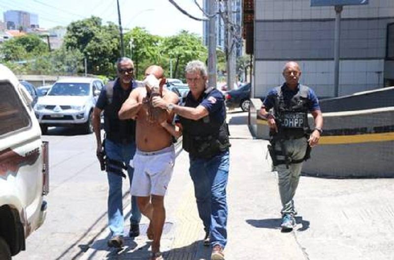 Paulo Sérgio foi preso em flagrante Paulo Sérgio foi preso em flagrante Foto: Alberto Maraux / Divulgação/ SSP-BA