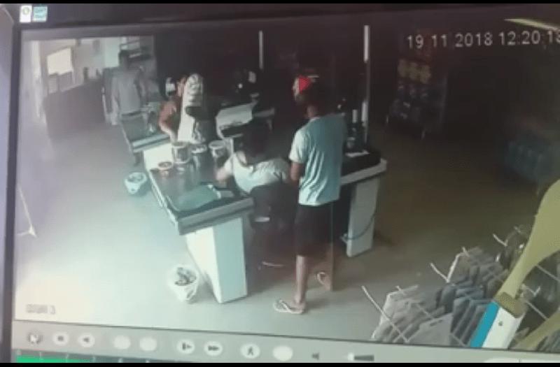 Na Luz do dia- Ladrões armados assaltam supermercado no bairro Jardim América em Novo Progresso;Vídeo