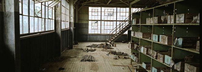 Interior da fábrica A fábrica por dentro