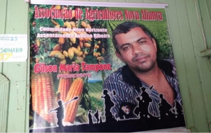 Líder de assentamentos é assassinado a tiros no portão de casa em Rurópolis no Pará