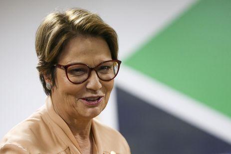A ministra da Agricultura, Tereza Cristina, defende assento para o ministério no Conselho Monetário Nacional – Marcelo Camargo/Agência Brasil