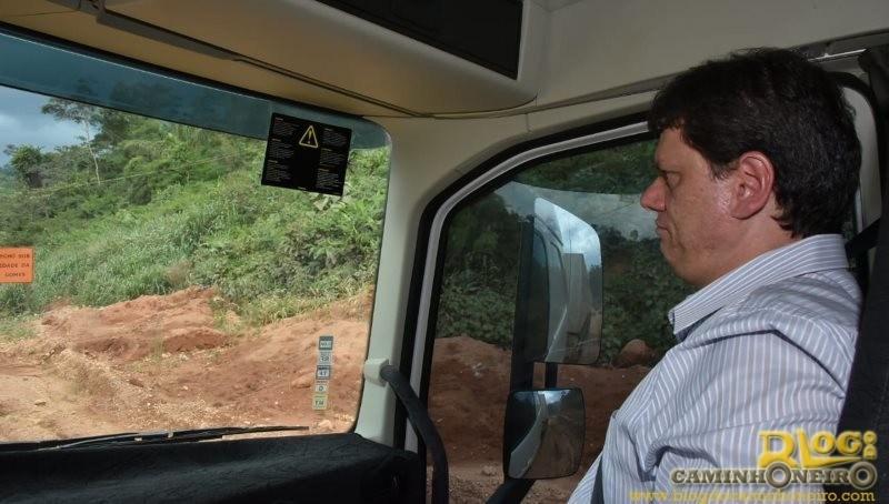 Ministro-Tarcisio-de-Freitas-BR-163-viagem-de-caminhao-4