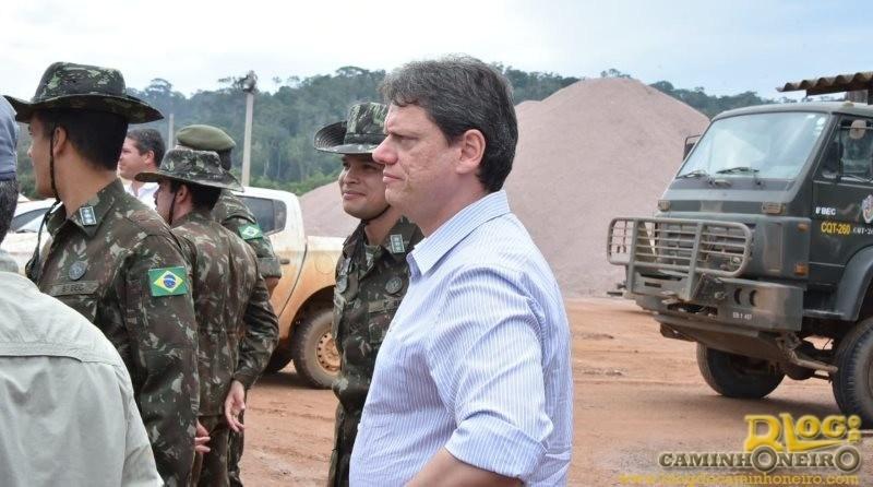 Ministro-Tarcisio-de-Freitas-BR-163-viagem-de-caminhao-5