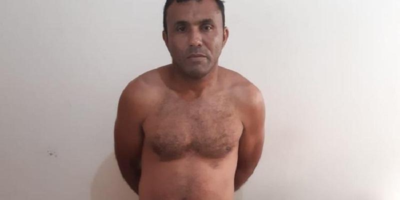 Padastro das vítimas, João Fredson Ribeiro Moraes, foi autuado em flagrante (Divulgação / Polícia Civil)