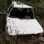 Menor sai ferido em acidente com veículo na rodovia BR-163