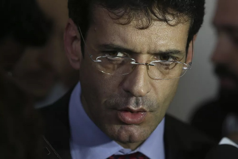 O ministro Marcelo Alvaro Antonio, do Turismo — Foto: Valter Campanato/Agência Brasil