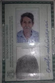 António Sivieri estava desaparecido desde sexta feira, 08/03/19. (Foto:Divulgação policia)
