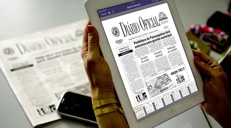 DOE IOE encerra versão impressa do Diário Oficial do Estado do Pará. — Foto: Fernando Sette / Ascom DOE