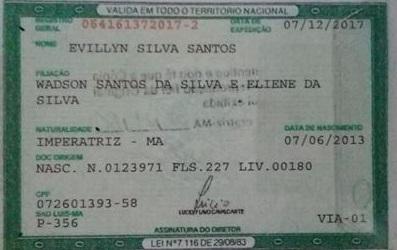 EVILLYN SILVA SANTOS