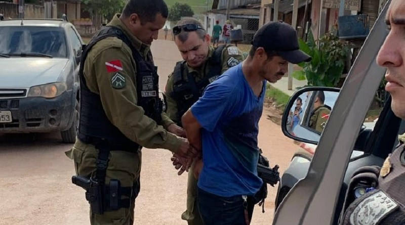 Vândalo que destruiu cabos de provedor de internet é preso pela Policia Militar em Novo Progresso
