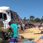 Número de acidentes com caminhões na rodovia Br 163 aumentam com safra de milho