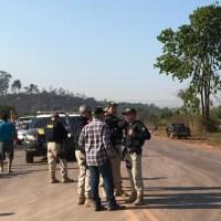 """Indígenas e Garimpeiros atendem pedido de Ministro e liberam rodovia """"BR163"""" após 5 dias de protesto"""