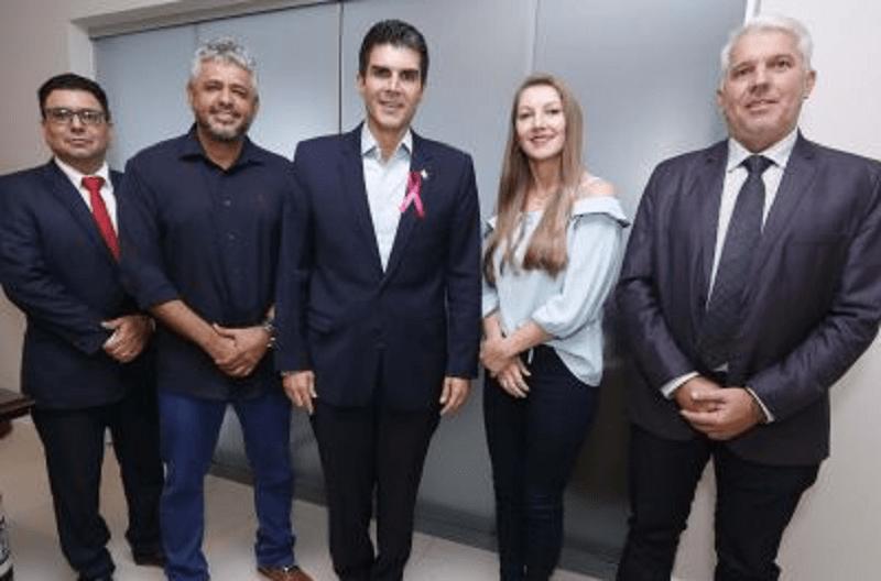 Deputado Eraldo Pimenta (MDB) ,Helder Barbalho (MDB),Madalena Hoffmann (PSDB), Gelson Dill (MDB)
