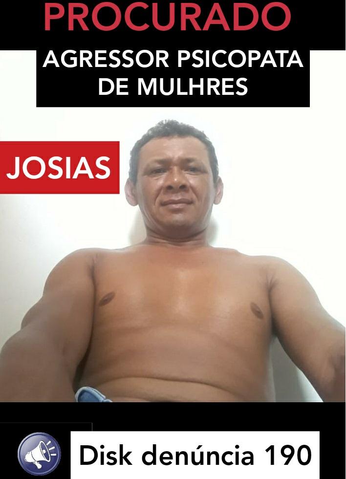 """""""JOSILDO SOUZA SILVA"""" este sendo procurado Ifoto:Divulgação)"""