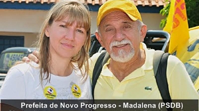 Madalena simão jatene Novo Progresso