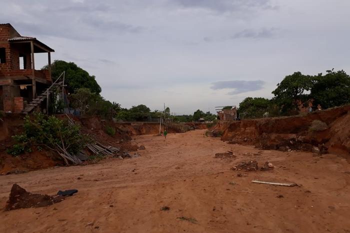 Deslizamentos de terra atingiram o bairro Pajuçara Deslizamentos de terra atingiram o bairro Pajuçara (Divulgação - Redes sociais)