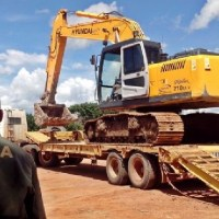 IBAMA flagra crime ambiental, apreendem máquinas e não destroem - entregam para uso publico em Novo Progresso